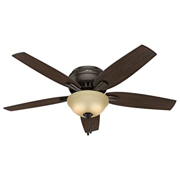 Hunter 53314 newsome ceiling fan with light 52large premier hunter 53314 newsome ceiling fan with light 52quotlarge premier bronze aloadofball Gallery