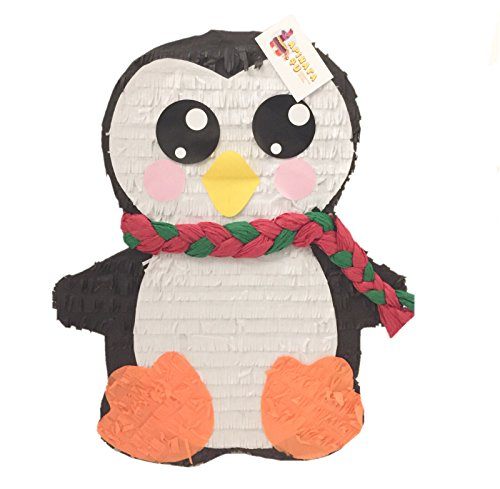 APINATA4U Christmas Penguin Pinata with Large Eyes -