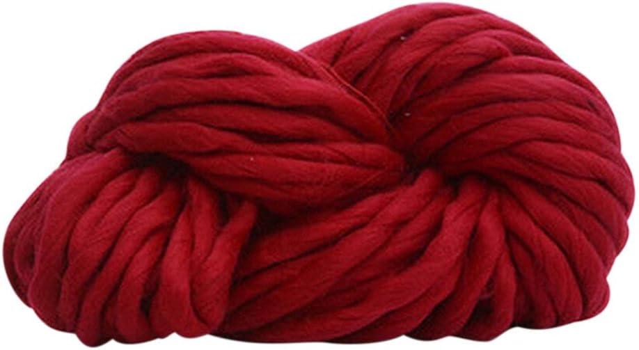 Colchoneta de lana gruesa gigante para tejer a mano Amesii muy voluminosa 1# 250 g