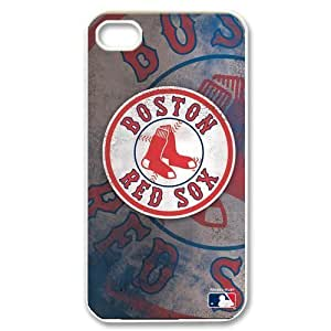 MLB Boston Red Sox Retro Vintage Style Case Cover for Iphone 4 4s wangjiang maoyi