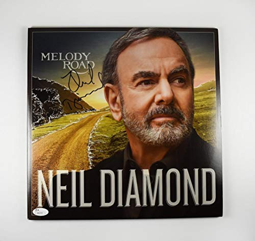 (Neil Diamond 'Melody Road' Signed Record Album LP Certified Authentic JSA COA)