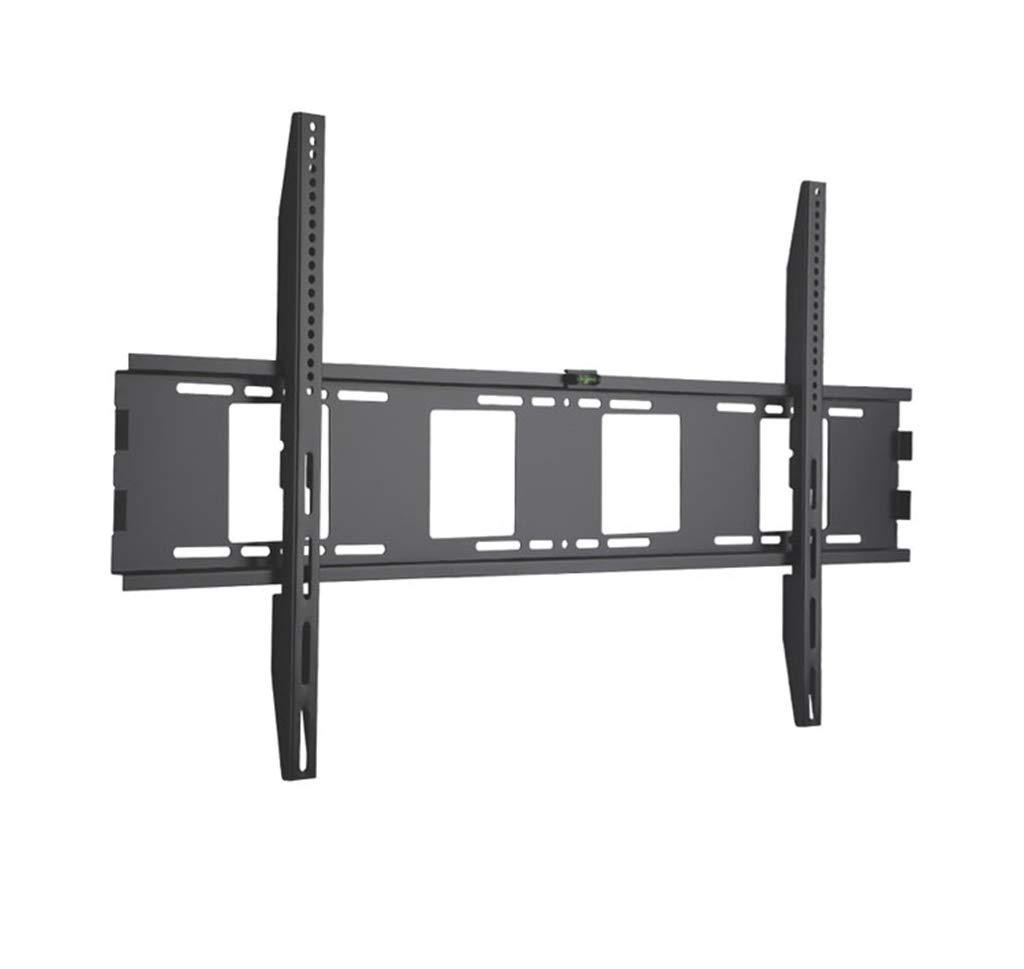 テレビ壁掛け用部品 スピリットレベルのフラットスクリーンテレビ付きTVウォールマウントブラケットスーパー強力100kg重量容量   B07SSR6M4F