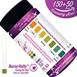 Krankenschwester Hatty® - 200ct. pH Strips NOW Made in USA (ECONOMY SIZE - SINGLE PAD) - pH Test Strips for Alkaline & Acid Levels for Home & Lab Use + Brand New 37pg BONUS PDF Edu Pack - pH Scale of Human Urine