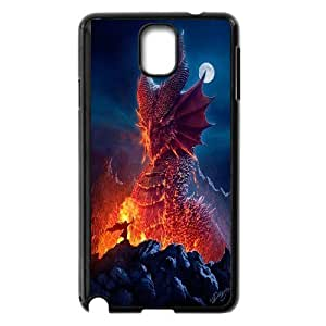 JamesBagg Phone case dragon at sky pattern For Samsung Galaxy NOTE4 Case Cover FHYY444261