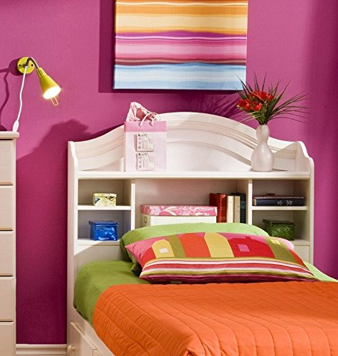 Summer Breeze Bookcase Bed - Summer Breeze Twin Bookcase Headboard (39