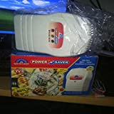 Cpixen Plastic 40% Maxx Energy 2 in 1 Power Saver Cum Line Tester (White, 8494)