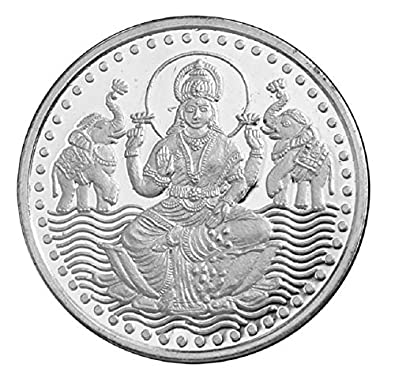 Buy King Bullion Laxmi Silver Coin 50 gm 999 Precious Coin