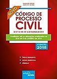 capa de Mini Código de Processo Civil. 2018