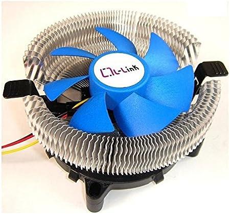 L-Link LL-8877 - Ventilador para CPU, Color Azul: Amazon.es ...