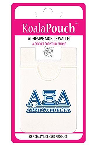 Alpha Xi Delta - Koala Pouch - Adhesive cell phone wallet (Alpha Merchandise)