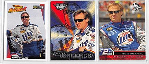 Rusty Wallace Card (Rusty Wallace - NASCAR Racing Card Lot - 3 Cards)