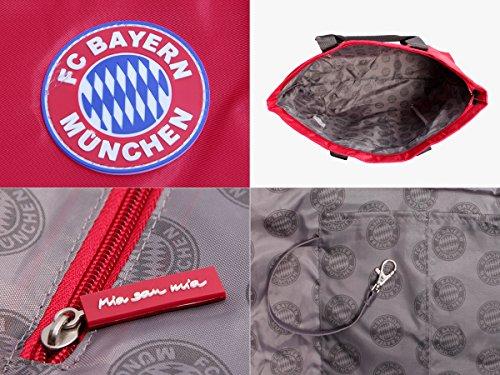 62 Fc Bolsa Con Rojo Logo De Merch Color 'marca Múnich Bayern Playa nbsp;cm gIq0IZO