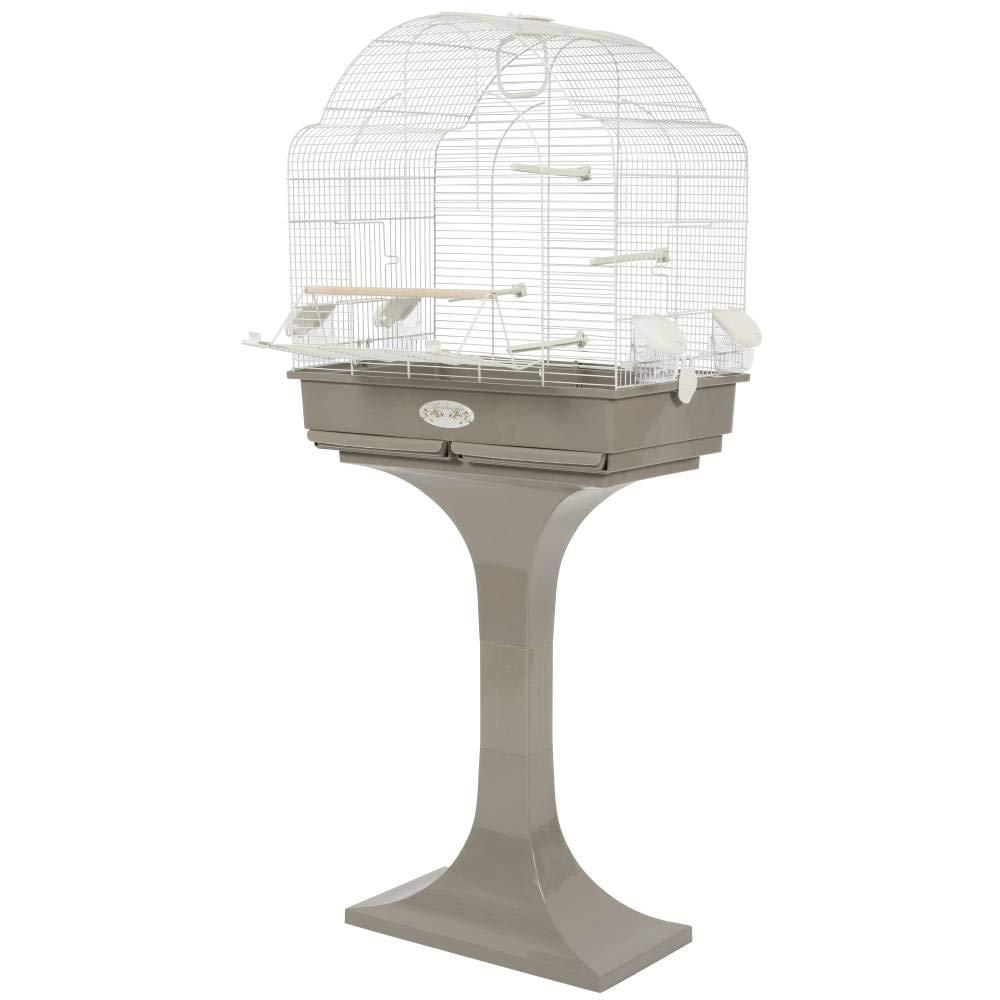 Cage oiseaux - Cage arabesque Louise 68 cm cm cm - taupe 1f4d24
