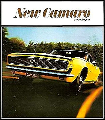 FULL COLOR 1967 CAMARO DEALERSHIP SALES BROCHURE - SHOWS Rally Sport RS, Super Sport SS. Chevrolet Chevy Sport Ss Full System