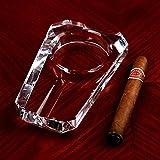 HYLRUS Creative fashion Fine cigar crystal ashtray European luxury style