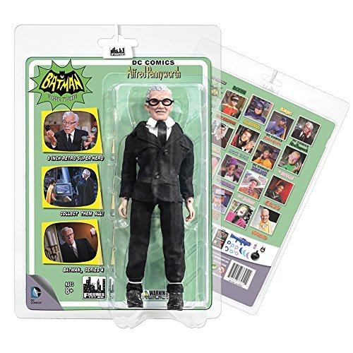 Batman 1966 Classic TV Series 4 Action Figure: Alfred Pennyworth