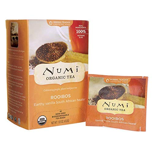 Numi Organic Tea Herb Red Mellow Bsh Rooibos, 18 ct ()