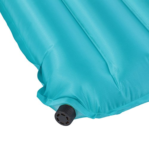 OUTAD 2-in-1 Inflatable Waterproof Air Mattress, Pool Float Cushion and Camping Sleeping Pad, Thickness 3.5