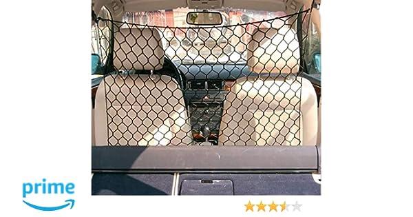 Tekshopping® - Red separadora de malla ancha para el transporte de animales (perros y gatos) en el coche, 120 × 90 cm: Amazon.es: Productos para mascotas