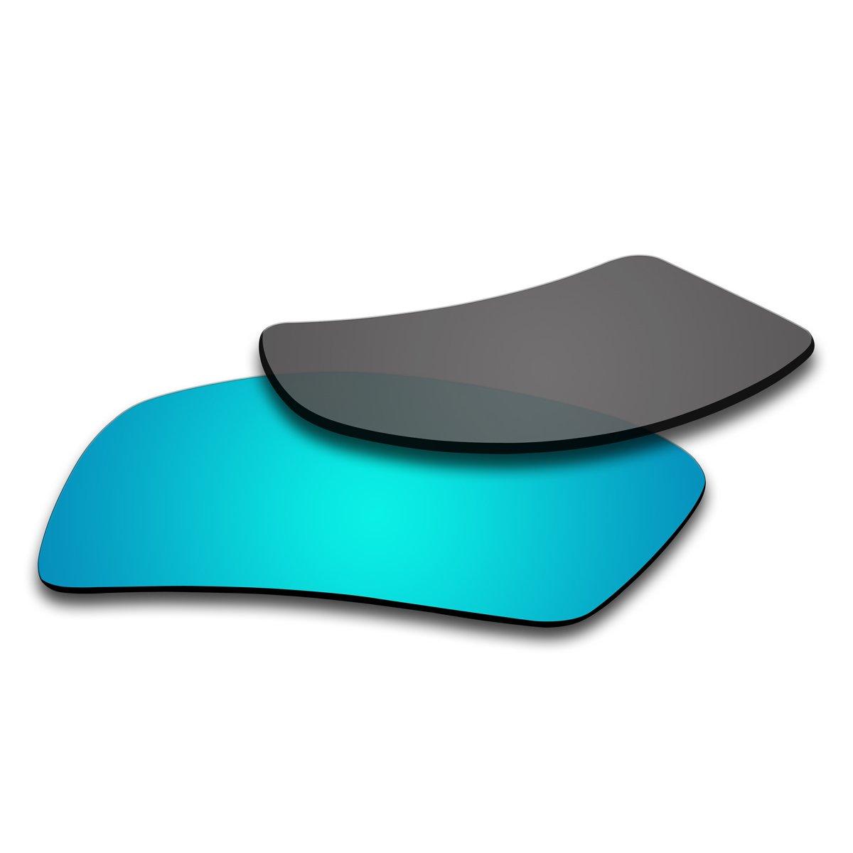acompatible Ersatz Lenses für Oakley Sonnenbrille Gascan (nicht fit Gascan S), Ice Blue Mirror - Polarized
