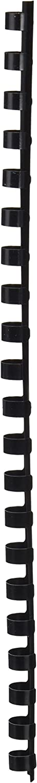 Q-Connect KF24020 - Canutillo para encuadernar (10 mm, 100 unidades), negro
