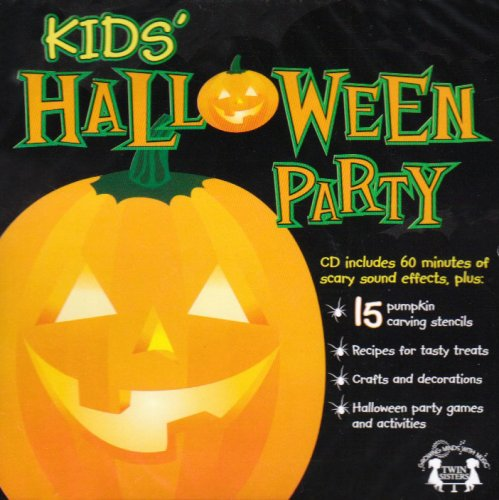 Kids Halloween Party Music CD -