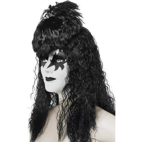 Adult's Kiss Halloween Costume Wig