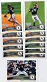 2011 Topps Opening Day Chicago White Sox Team Set - 12 Cards including Manny Ramirez, Paul Konerko, Adam Dunn, Brent Morel Rookie Card & More - In A Protective Storage Case!