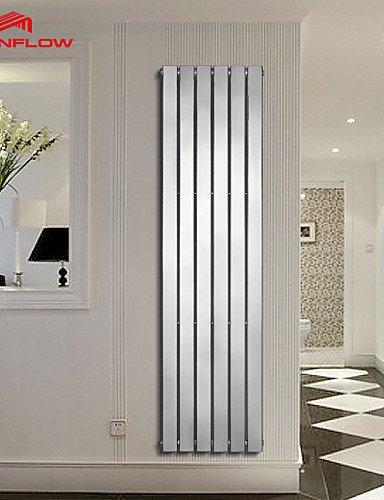 0.5 Radiador-calentador de toallas, Modern cromo pared montaje