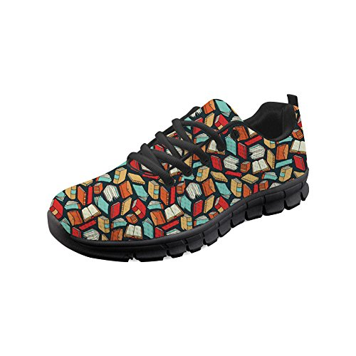 Showudesigns Fashion Classic Sport Sneaker Outdoor Walking Shoes for Women Youth Girl Color 3 yryQhAZ0