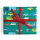 Sea Urchin Studio Cars and Trucks Gift Wrap