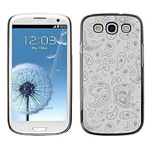 Paccase / SLIM PC / Aliminium Casa Carcasa Funda Case Cover para - Psychedelic Pattern - Samsung Galaxy S3 I9300