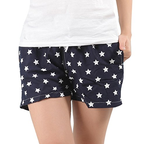 La Shorts Imprimé Acvip Pantalons xxl Mer Xl Au Amoureux Bain 5 De Couple Plage taille Les Bord Femme Style w0PwYf