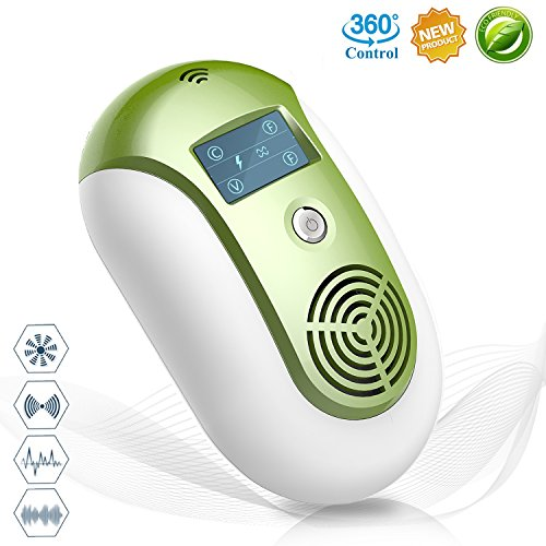 Arkra [2018 UPGRADED] Ultrasonic Pest Repellent - Electronic Pest Repeller Plug In Effective Indoor & Outdoor Insects Control Home Pest Free, for Rodent,Cockroach,Fly,Mosquito,Rat,Mice,Bed Bug,Flea