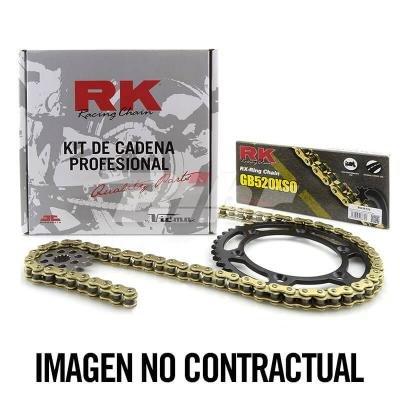 KC100460//54 Kit transmision plato pi/ñon cadena RK 428M RK