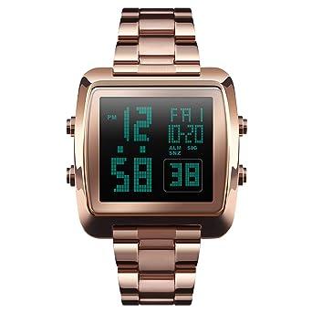 Amazon.com: Alcadan - Reloj digital deportivo multifunción ...