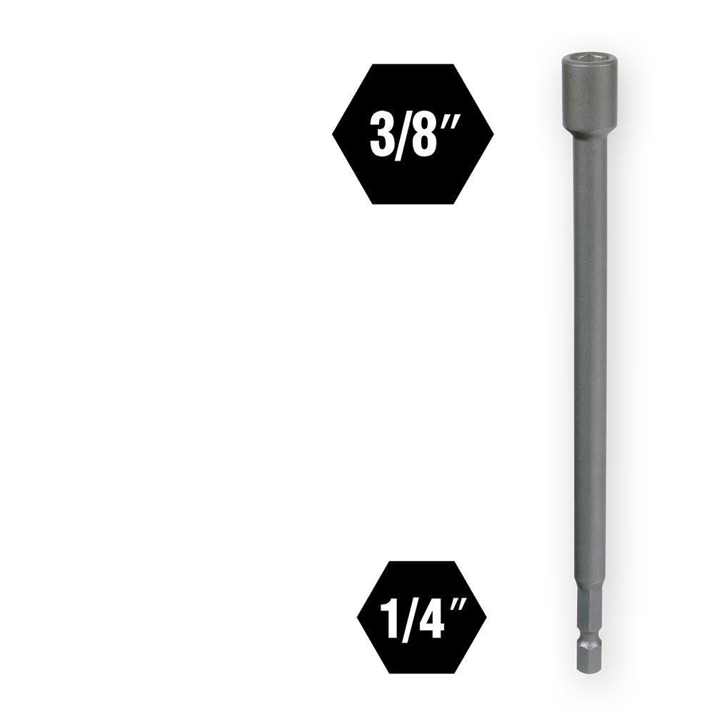 Impact Plus IVY Classic 45494 3//8 x 6 Magnetic Nut Setter 5-Pack IVY Classic Industries
