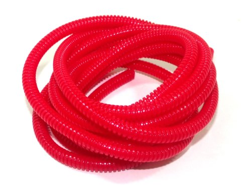 Taylor Cable 38194 Red Convoluted Tubing by Taylor Cable