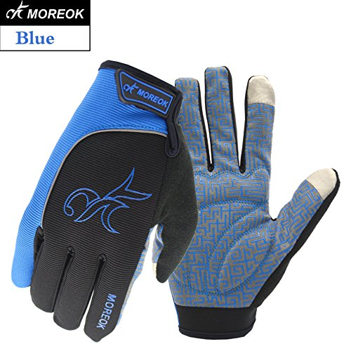 MOREOK Men & Women 3M Thinsulate Windproof Thermal Gloves & Winter Touch Screen Warm Gloves for Cycling,Riding,Running,Outdoor Sport