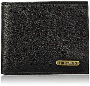 Hidesign Black Men's Wallet (Hidesign Mens Wallet 017SC Black)