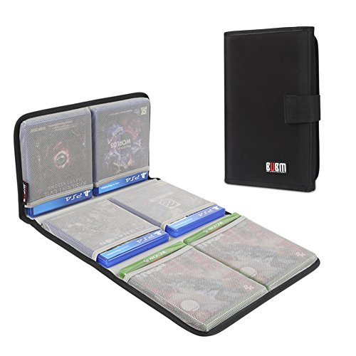 Bubm Ps4 Ps4 Pro Xbox Game Disc Carrying Case Travel