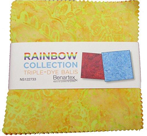 Rainbow Batik 40 Precut 5