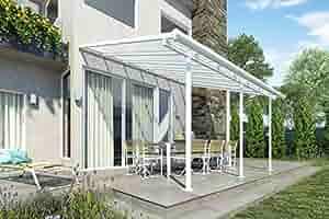 De aluminio de gran calidad prikker-überdachungen/Veranda – 420 x 300 (BXT)/überdachung Palram Feria Color Blanco: Amazon.es: Bricolaje y herramientas