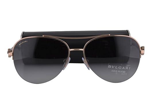 Amazon.com: Bvlgari BV6068K - Gafas de sol chapadas en oro ...