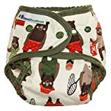 Best Bottom Snap Cotton Diaper, Brawny Bears Review and Comparison