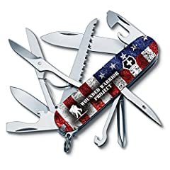 For every Wounded Warrior Project(WWP) Swiss Army Knife sold between May 20, 2016 and June 30, 2017, Victorinox Swiss Army, Inc. will donate 5% of the manufacturer's suggested retail price directly to WWP. The Classic Swiss Army Knife is a pr...