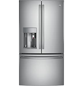 GE PFE28PSKSS Profile 27.8 Cu. Ft. Stainless Steel French Door Refrigerator - Energy Star