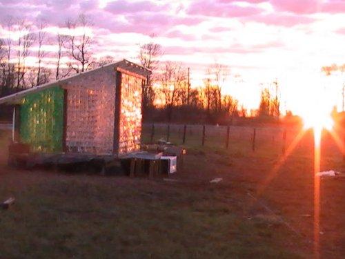 Building a Plastic Bottle Greenhouse (Blue Rock Station Style)