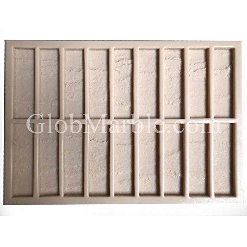 GlobMarble Concrete Stone Mold Brick Pattern. Brick Concrete Mold BS 511/3 (Veneer Over Brick Stone)
