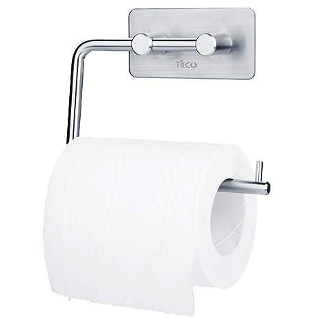 YECO Soporte para Papel higiénico, Porta-Rollos de Papel higiénico Autoadhesivo Ganchos de Pared de Acero Inoxidable montados en la Pared: Amazon.es: Hogar